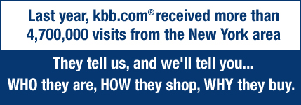 Last year kbb.com received nearly 4 million visits from the Chicago area! They tell us, and we'll tell you...WHO they are, HOW they shop, WHY they buy.
