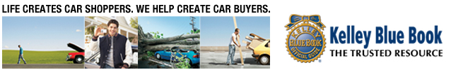 Life creates car shoppers. We help create car buyers. Kelley Blue Book